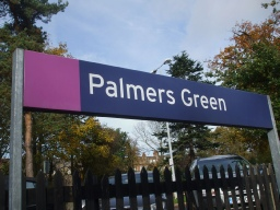 Palmers Green Station London